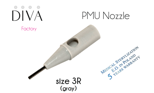 Nozzles (DIVA) for T, S acupuncture needles